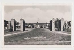 AI40 Photograph - Unidentified Barracks - War, Military