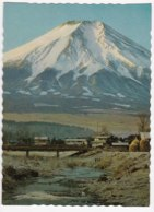 AK92 A View Of Mt Fuji From Oshino, Fuji Hakone Izu National Park - Japan