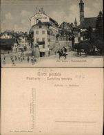 LUZERN FRANZISKANERPLATZ,SWITZERLAND POSTCARD - LU Lucerne