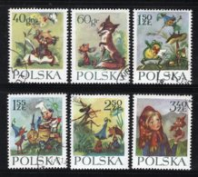 POLEN Yt. 1222/1227° Gestempeld 1962 - 1944-.... République
