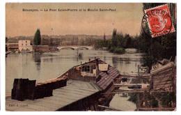 5135 - Besançon ( 25 ) - Le Pont Saint-Pierre Et Le Moulin Saint-Paul -  édit. J. Liard - - Besancon