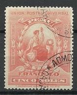 PERU 1899 Michel 116 O - Perú