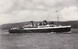 AN99 Shipping - Scottish Ferry D.E.V. Lochfyne - RPPC - Ferries