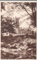 AN99 Buckfast Abbey Church From River Dart - England