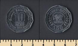 Sri Lanka 10 Rupees 2017 - Sri Lanka