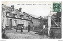 MORGNY      Ferme L DURAND  (RECTO VERSO) - Other Municipalities