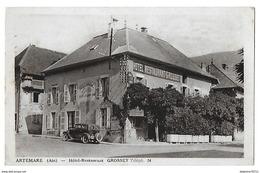 ARTEMARE  Hotel Restaurant  GROSSET  (RECTO VERSO) - Other Municipalities