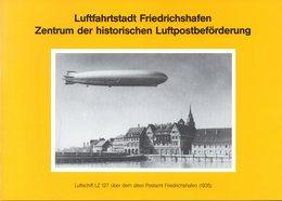 """BRD 4-seit. A5-Gedenkblatt """"Luftfahrtstadt Friedrichshafen"""" Mi. 1522/25 ESSt 9.4.1991 FRIEDRICHSHAFEN - Sin Clasificación"""