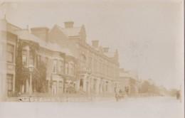 AO78 Blaby Road, South Wigston - RPPC, Undivided Back - England