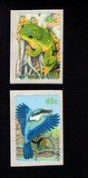 788455964 1999  SCOTT 1793 1794 POSTFRIS  MINT NEVER HINGED EINWANDFREI  (XX) - SMALL POND FAUNA FROG BIRD COILS - Neufs