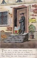 AQ33 Comic/humour - Mr Love Finds Baby On Doorstep - Humor