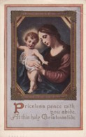 AR32 Greetings - Christmastide - Mary And Baby Jesus - Other
