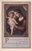 AR32 Greetings - Christmastide - Mary And Baby Jesus - Christmas