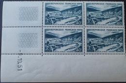 R1949/981 - 1951 - VALLEE DE LA MEUSE - BLOC N°842A TIMBRES NEUFS** CdF Daté - 1950-1959