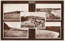AR32 Barry Multiview - 1920's RPPC - Glamorgan