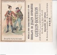CHROMOS. Chocolat GUERIN-BOUTRON.   Mais Vos Habits Vont Faire Sauver Le Gibier !, Ect ...U689 - Guerin Boutron