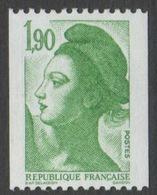 France Neuf Sans Charnière 1986 Liberté De Gandon D'après Delacroix Roulette 2426 - 1982-90 Liberty Of Gandon
