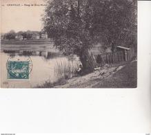 CPA (92) CHAVILLE.  Etang De Brise-Miche,  Pêcheur à La Ligne  ...U529 - Chaville
