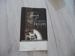 Pub Publicité Jea  Picotin 29  Cours Morand Les Postes Phillips 1937 - Advertising