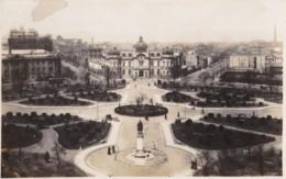 AQ34 RPPC - Unidentified City Square - Photographs