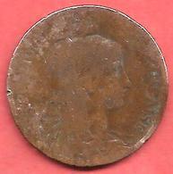 5 Centimes , Type DANIEL DUPUIS , Bronze , 1898 , N° F # 119.5 - France