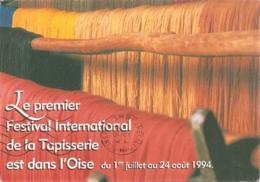 60 - Beauvais - Premier Festival International De La Tapisserie - Oise Juillet - Août 1994 (circ. 1994) - Beauvais