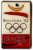 C78 - JO BARCELONA ' 92 - COCA COLA -Verso : R TME THE C.C.C. / C 1988 COOB'92 SA 7M - Coca-Cola
