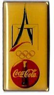 C79 - TOUR EIFFEL,  DEFENSE, ANNEAUX OLYMPIQUES - COCA COLA -Verso : UNION MADE USA - Coca-Cola