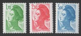 France Neuf Sans Charnière 1984 Liberté De Gandon D'après Delacroix YT 2318 2319 2320 - 1982-90 Liberty Of Gandon