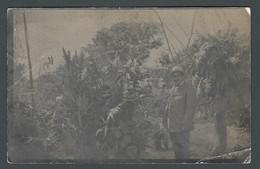 Lot De 2 CPA Photos Homme Cavalier à Cheval Et Dans Sa Plantation De CORDOBA - Da Identificare