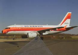 US AIRWAYS PSA A319 N742PS Aviation Aiplane Planes Flugzeuge - 1946-....: Era Moderna