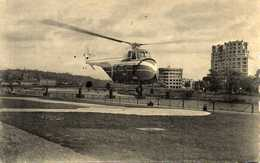 """LIEGE - Premier Service Dans Le Monde - Hélicoptère """"SIKORSKY 55"""" - Helicopters"""