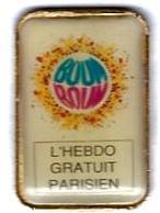 PRESSE - P124 - L'HEBDO GRATUIT PARISIEN - Verso : SM - Medios De Comunicación