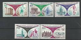 """Centrafrique Aerien YT 110 à 114 (PA) """" Rétrospective Des JO """" 1972 Neuf** - República Centroafricana"""