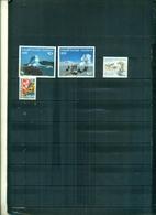 GROENLANDE NORDEN 91-ILULISSAT-BLUE CROSS 4 VAL NEUFS A PARTIR DE 1.25 EUROS - Groenlandia