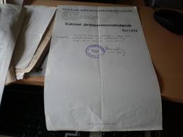 Ofutak Kozsegeloljarosaga Katonai Jarasparancsnoksagnak Ujvidek 1941 Novi Sad Futog WW2 Okupation - 1939-45