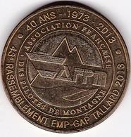 Médaille Souvenir Ou Touristique > A F P M > Dia. 34 Mm - 2013