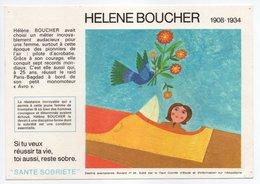 - BUVARD Hélène BOUCHER - Édité Par Le Haut Comité D'Étude Et D'Information Sur L'Alcoolisme SANTÉ SOBRIÉTÉ N° 26 - - Transports