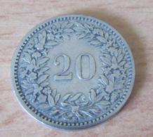 Suisse - Monnaie 20 Centimes 1881 - Schweiz