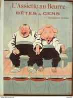 L'ASSIETTE AU BEURRE-1902- 88-BETES & GENS.....BENJAMIN RABIER - Livres, BD, Revues