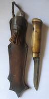 ANCIEN COUTEAU PUUKKO FINLANDE MARQUE MARTTINII ANNEES 1940/45 - Knives/Swords