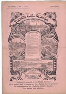 1905 TOURING CLUB DE BELGIQUE LE LAC BLEU BERN ESNEUX SUISSE AU PAYS DES ARDOISIERES AFFICHES: RED STAR LINE CHEMINS DE - Libri, Riviste, Fumetti