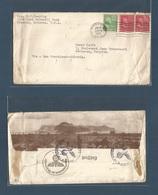 USA - Prexies. 1941 (30 Jan) Phoenix, AZ - Belgium, Wettern. WWII Air Route Via San Francisco - Siberia - Soviet Union, - Etats-Unis