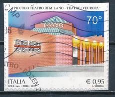°°° ITALIA 2017 - PICCOLO TEATRO DI MILANO °°° - 6. 1946-.. República
