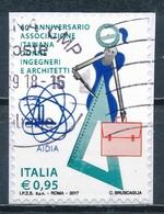 °°° ITALIA 2017 - ASSOCIAZIONE ITALIANA DONNE INGEGNERI E ARCHITETTI °°° - 1946-.. République