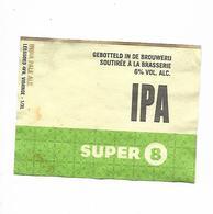 ETIQUETTE BIERE / SUPER IPA - Beer