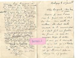 3 Lettres 1941 / 93 BOBIGNY / Famille SIMONIN Beurre & Fromages / Difficultés Guerre 40, Pénurie De Tout - France