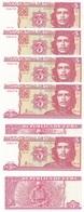 Cuba - 10 Pcs X 3 Pesos 2005 UNC Lemberg-Zp - Cuba