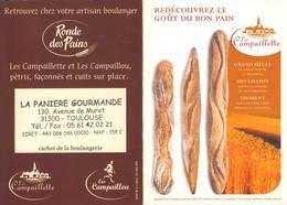 Calendrier °° 2005 - Boulanger 31 Panière - Campaillette - 8x11 - Calendriers
