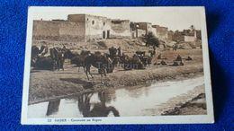 Gabes Caravane Au Repos Tunisia - Tunisia